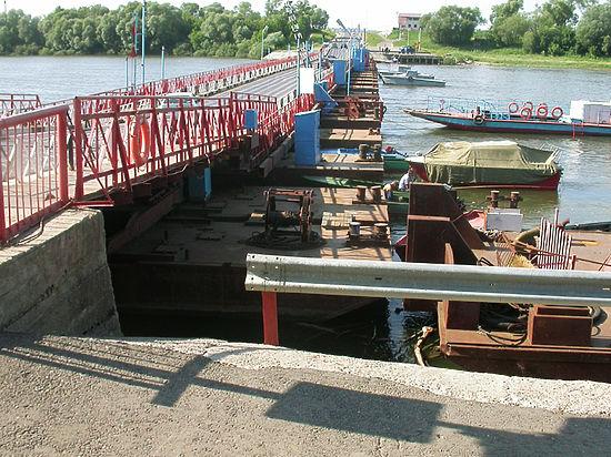 Из-за подтопления в Московской области закрыт мост через Оку