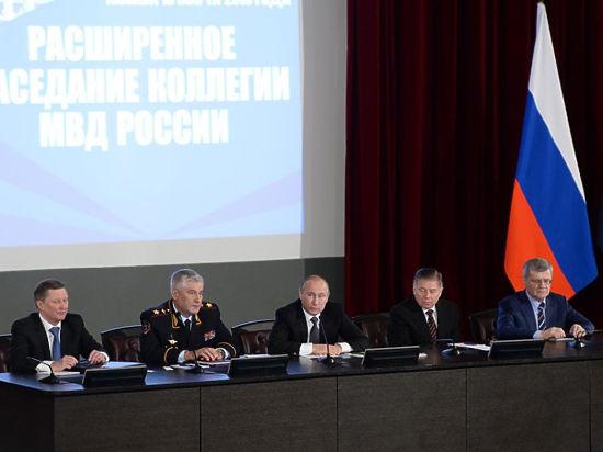 Репрессии оправданы: Путину пожаловались, что МВД «достигло предельной пропускной способности»