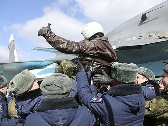 как спасали российских летчиков опубликовано видео
