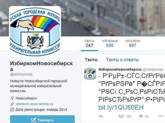 Новосибирский избирком уже год общается с избирателями на непонятном языке
