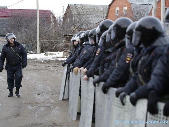 Силовики останутся в Плеханове до полной капитуляции цыган