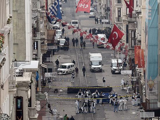 В Стамбуле произошел теракт в туристическом районе