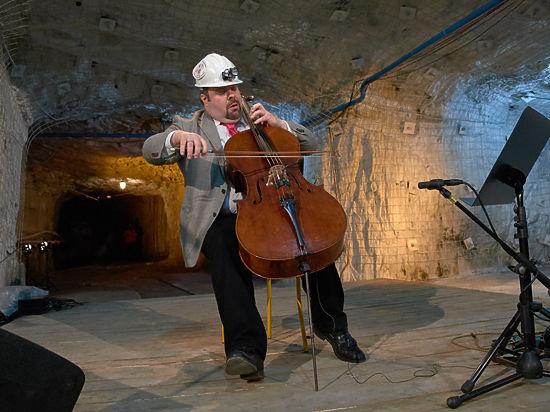 Юбилей музыкального фестиваля в Белгороде отмечали и на земле, и под землей