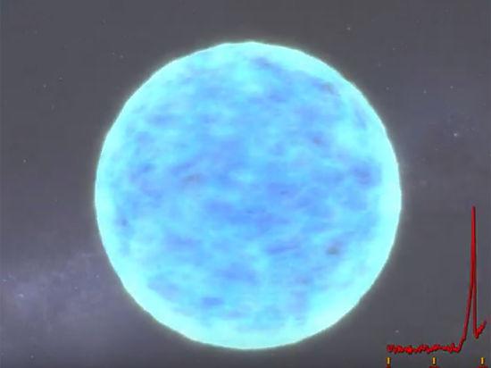 Вспышку сверхновой впервые удалось сфотографировать в оптическом диапазоне