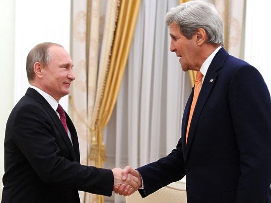 Путин потроллил Керри: «Некому помочь госсекретарю чемодан нести»