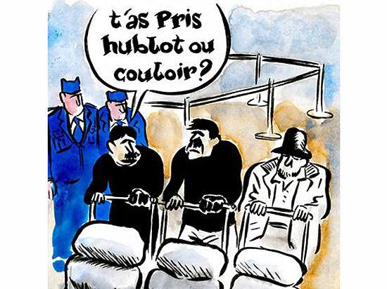 Журнал Charlie Hebdo новой карикатурой высмеял теракты в Брюсселе