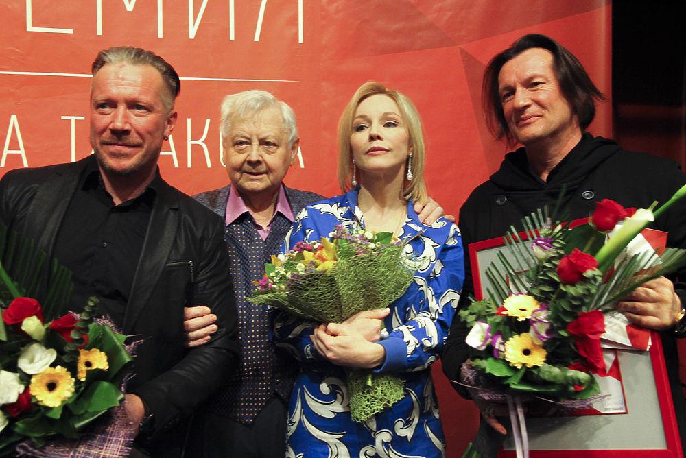 Олег Табаков провел 21-ю церемонию награждения своей именной премии в канун Международного дня театра
