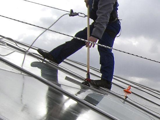 Промышленный альпинист погиб в центре Москвы при мытье окон