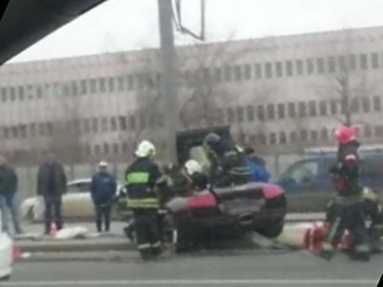 Сотрудники автосалона разбили Lamborghini бойца Яндиева стоимостью 14 млн рублей