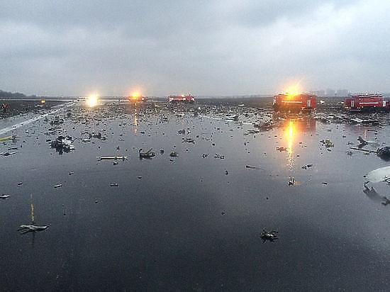 Новая версия крушения Боинга в Ростове: пилоты ругались перед аварией