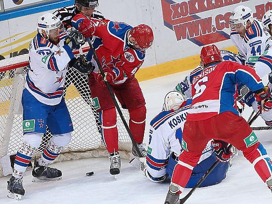 СКА сопротивления не оказал: ЦСКА вышел в финал Кубка Гагарина
