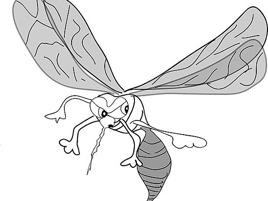 Палеонтологи обнаружили, что динозавров убили комары