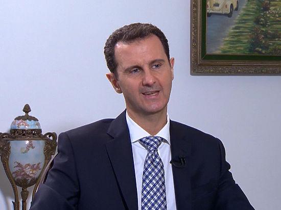 Асад обвинил Францию и Великобританию в поддержке терроризма в Сирии