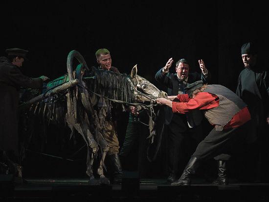 В Театре мюзикла сыграли рок-оперу поДостоевскому