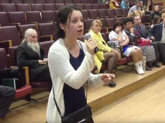Студентка Тимирязевки показала некомпетентность замминистра сельского хозяйства, отбирающего земли вуза
