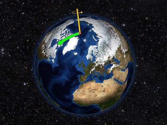 Из-за деятельности человека ось вращения Земли расшаталась