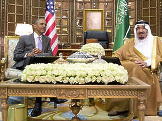 Король Саудовский Аравии отказался обнимать Обаму