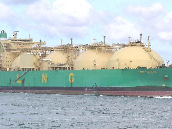 Первый танкер с газом отправился из Америки в Европу