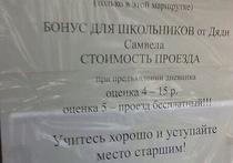 В Сергиевом Посаде школьников-отличников поощряют бесплатным проездом в маршрутке