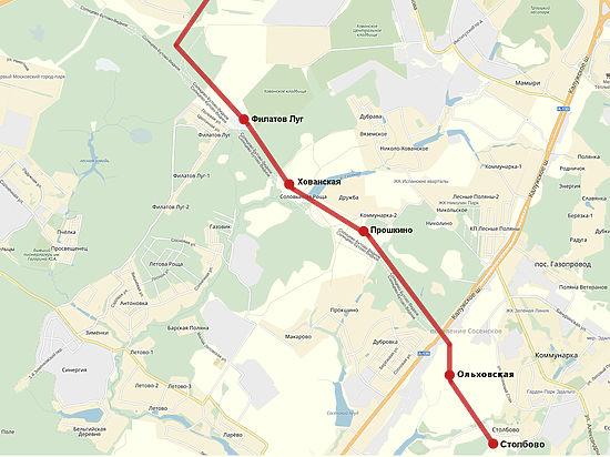 На карте Московского метро появится станция в честь луга