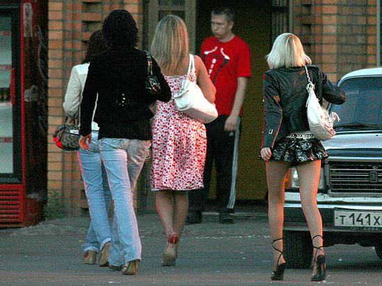 поймали проститутки