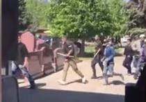 По данным СМИ 500 человек из числа этнических группировок устроили драку на Хованском кладбище в Москве