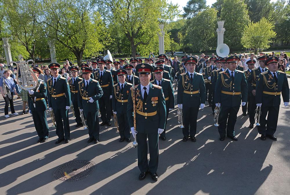14 мая в Москве состоялось открытие фестиваля духовых оркестров.