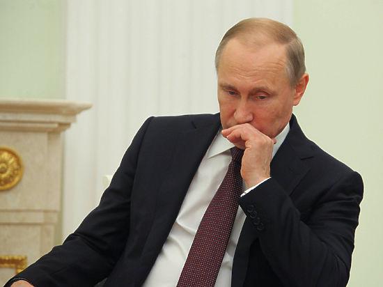 Путину не удалось узнать, как выполняются его