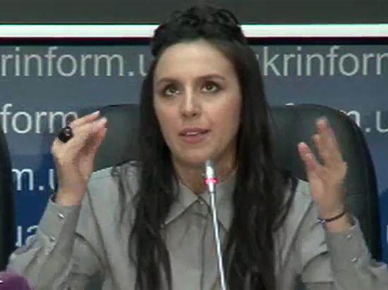 Пресс-конференцию Джамалы вКиеве открыли песней Лазарева