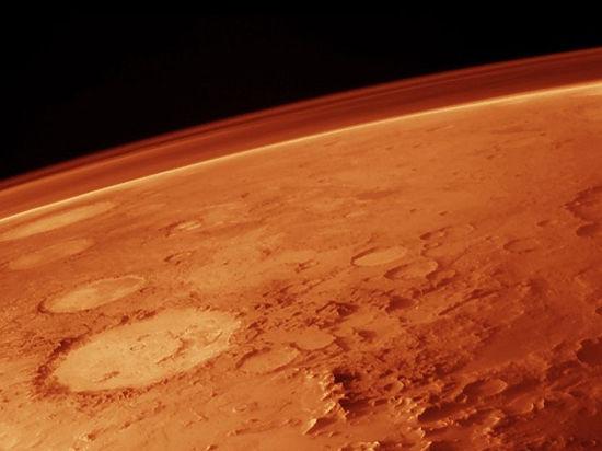 На Красной планете обнаружены следы древних цунами