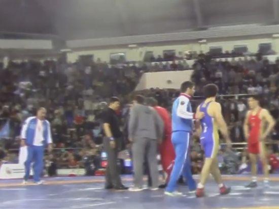 Дагестанские борцы снялись с чемпионата России после драки на ринге