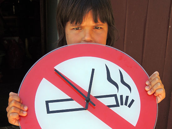 Закон против курения остался страшилкой