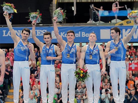 Спортивная гимнастика: золото Швейцарии уехало в Россию