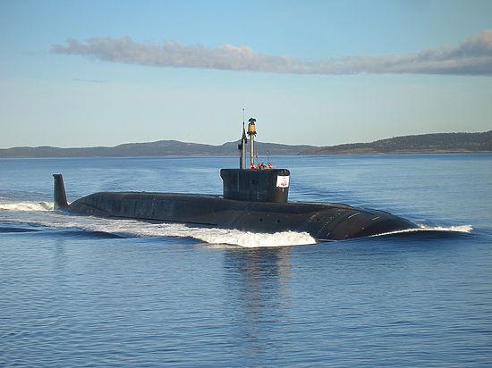 Российскую подлодку перехватили вСеверном море