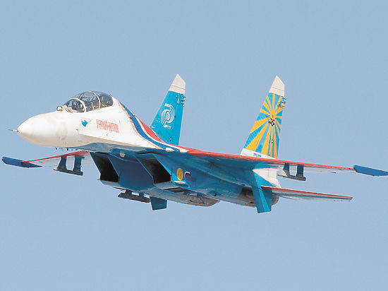 Минобороны озвучило предварительную версию крушения истребителя Су-27