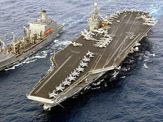 Переброска вСредиземное море авианосца США является демонстрацией силы— МИДРФ