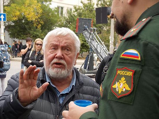 Как Михалкова в армию провожали