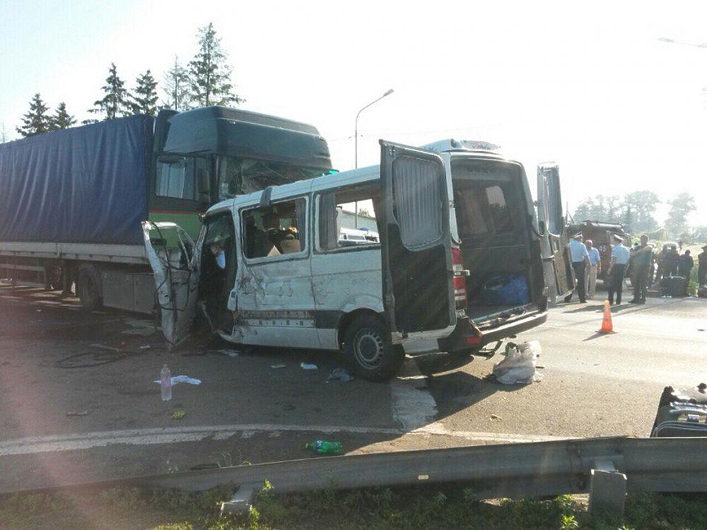 авария на трассе м2 микроавтобус мерседес