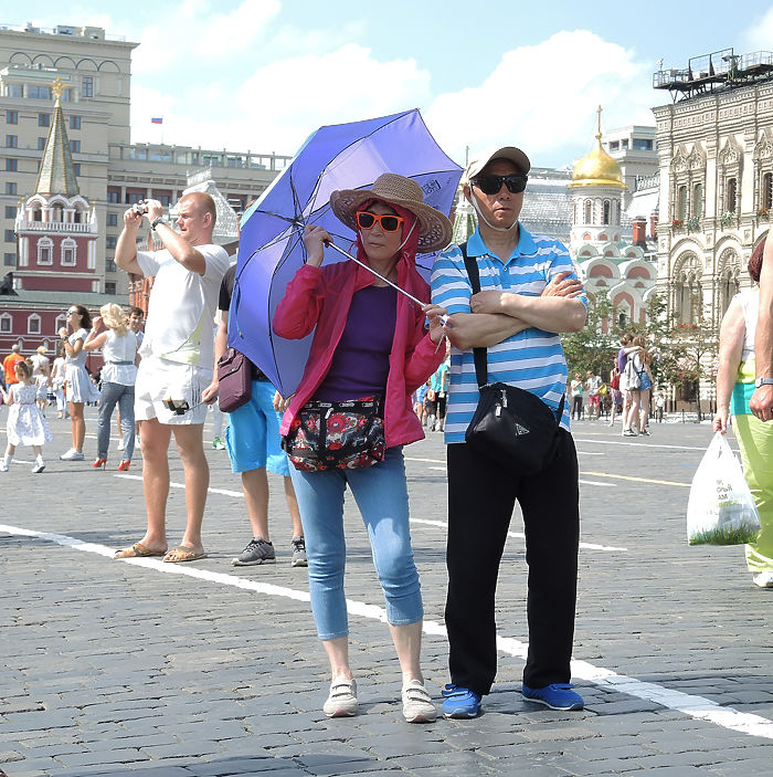 В Москву пришла тридцатиградусная жара