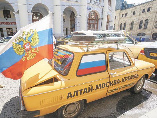 К Путину на желтом «Запорожце»: алтаец устроил автопробег из-за нищеты