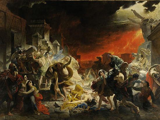В Риме назревает извержение вулкана, не уступающего Везувию