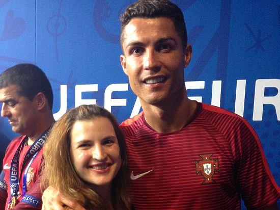 В объятиях Роналду: русская «шпионка» раскрыла семейные тайны сборной Португалии