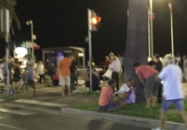 На праздновании Дня взятия Бастилии грузовик врезался в толпу, по людям открыли стрельбу