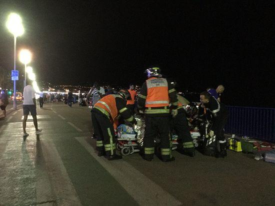 Теракт в Ницце: грузовик