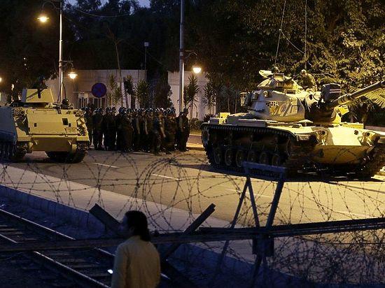 Военный переворот в Турции: онлайн-трансляция