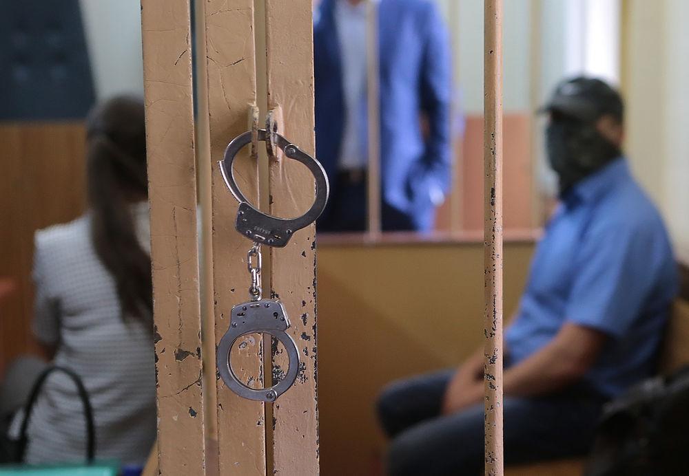 Замглавы ОСБ СКР Александр Ламонов оказался в зале суда как подозреваемый.
