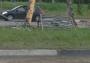 В пятницу вечером на пересечении проспекта Фрунзе и улицы Попова столкнулись три автомобиля: микроавтобус, Лада 21099 и Нисан