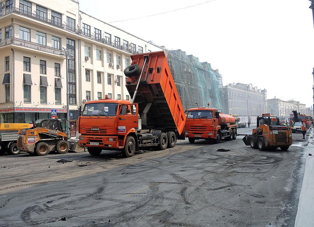 Масштабная реконструкция Тверской улицы в Москве завершается на месяц раньше срока.