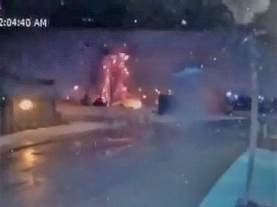 В германском городе Ансбах произошел взрыв
