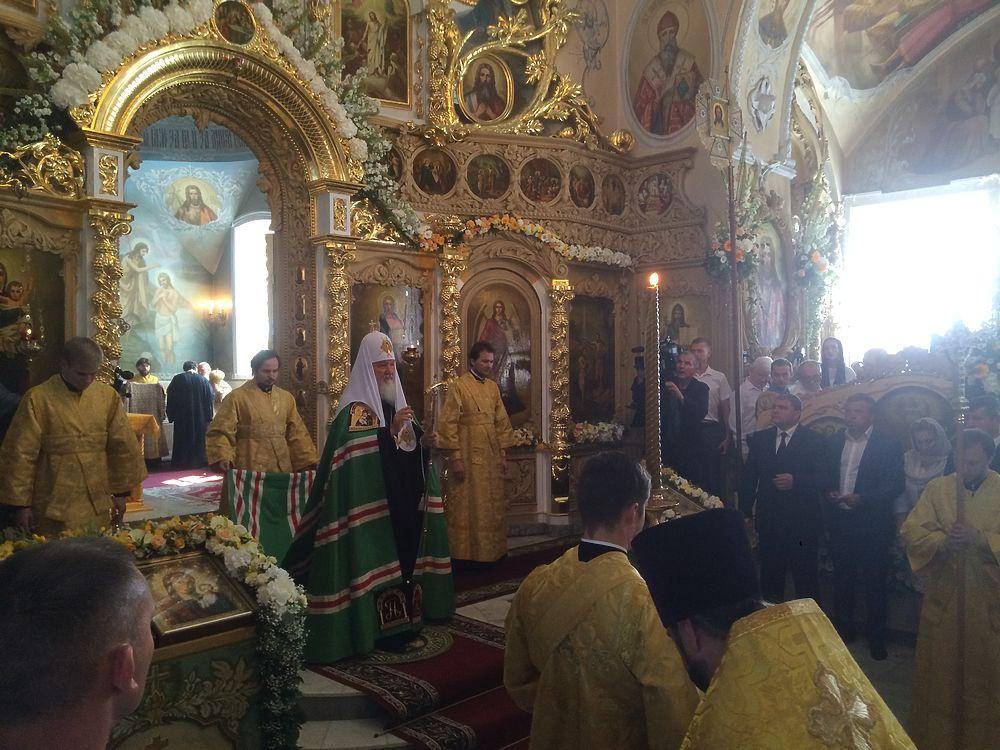 Визит патриарха Московского и Всея Руси в Орел